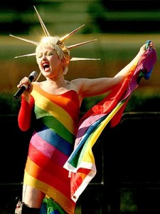 Cyndi Lauper would make a better VP.